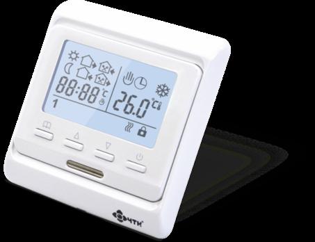 Термостат для теплого пола RTC-51 ЖК экран программируемый