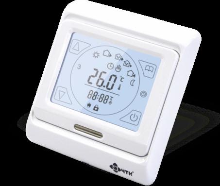 Термостат для теплого пола RTC-51 сенсорный экран программируемый
