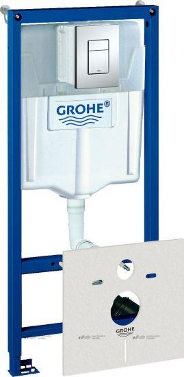 Инсталляция для унитаза GROHE Rapid SL 4 в 1 38775001 (Германия)